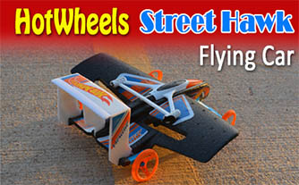 hotwheels street hawk flying car