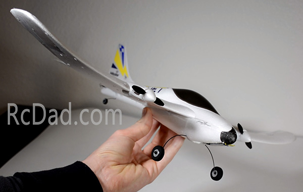 hobbyzone duet remote control airplane