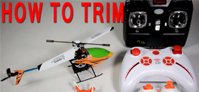How to trim your Quadcopter and Helicopter