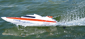 rc race boat ft009