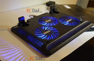 Havit laptop cooler air vents