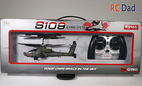 S109 rc helicopter