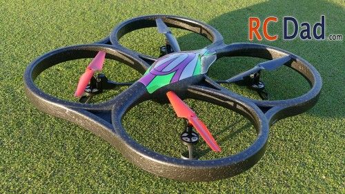 WL Toys V262 Cyclone UFO RC Quadcopter