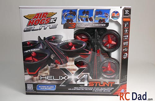 airhogs helix x4 stunt quadcopter