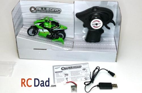 allegro radio control motorcycle