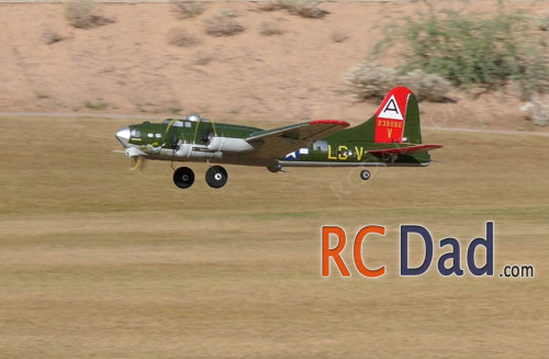 b17 flying fortress rc plane