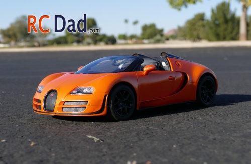 bugatti veyron rc car
