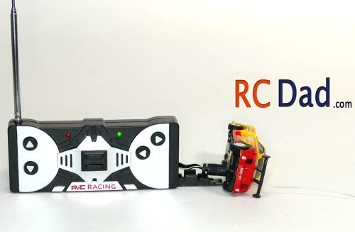 coke can radio control car