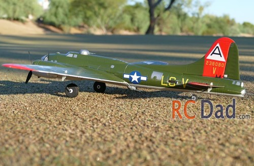 e flite umx b 17g flying fortress as3x