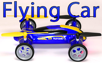 flying car quadcopter
