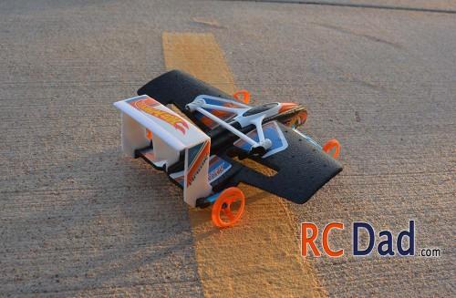flying rc car