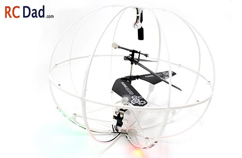 flying sphere helicopter