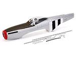 fuselage p51d spare part