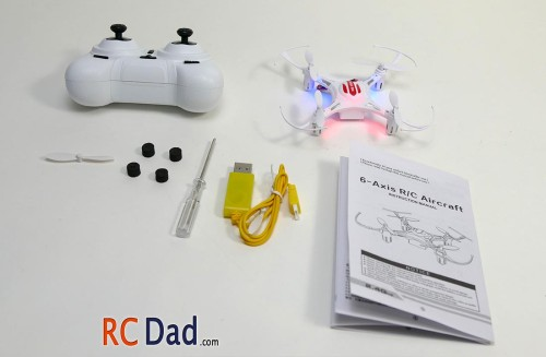 h8 quadcopter mini