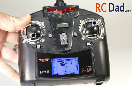 h911 rc helicopter transmitter