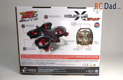 helix x4 stunt air hogs