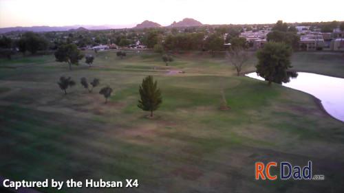 hubsan x4 footage 2