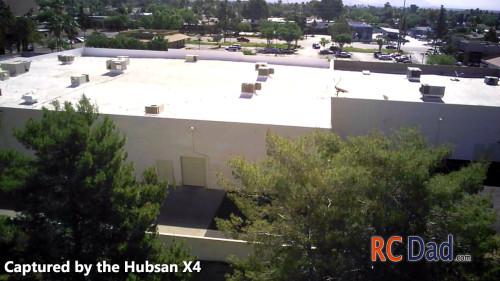 hubsan x4 footage