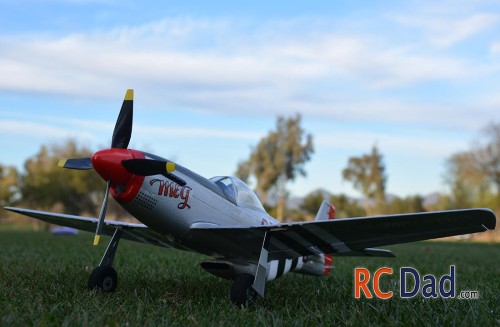 mini rc airplane warbird