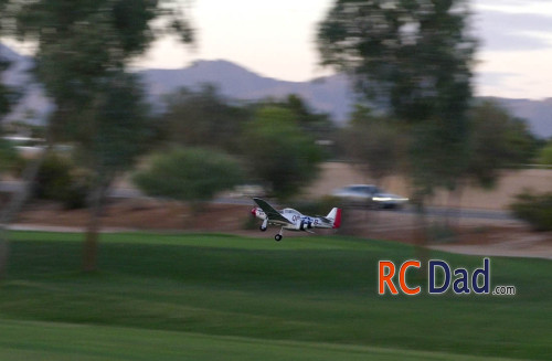 p51 mustang mini airplane