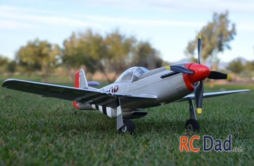 p51 rc airplane