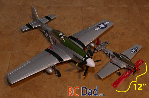 parkzone ultra micro mustang rc airplane