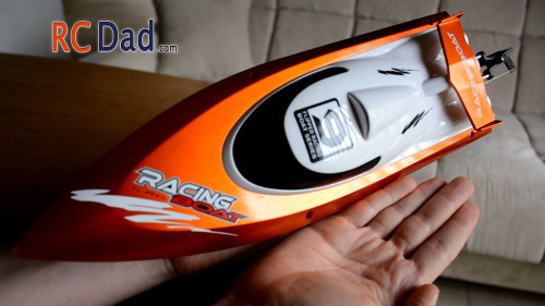 pool rc boat