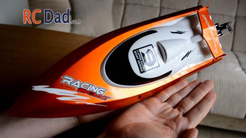 pool rc boat