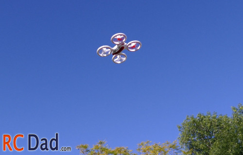quadcopter flip