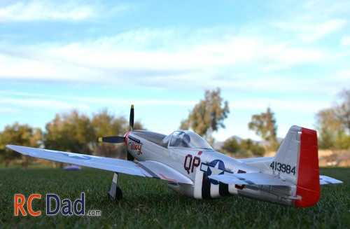 rc airplane p51 mustang