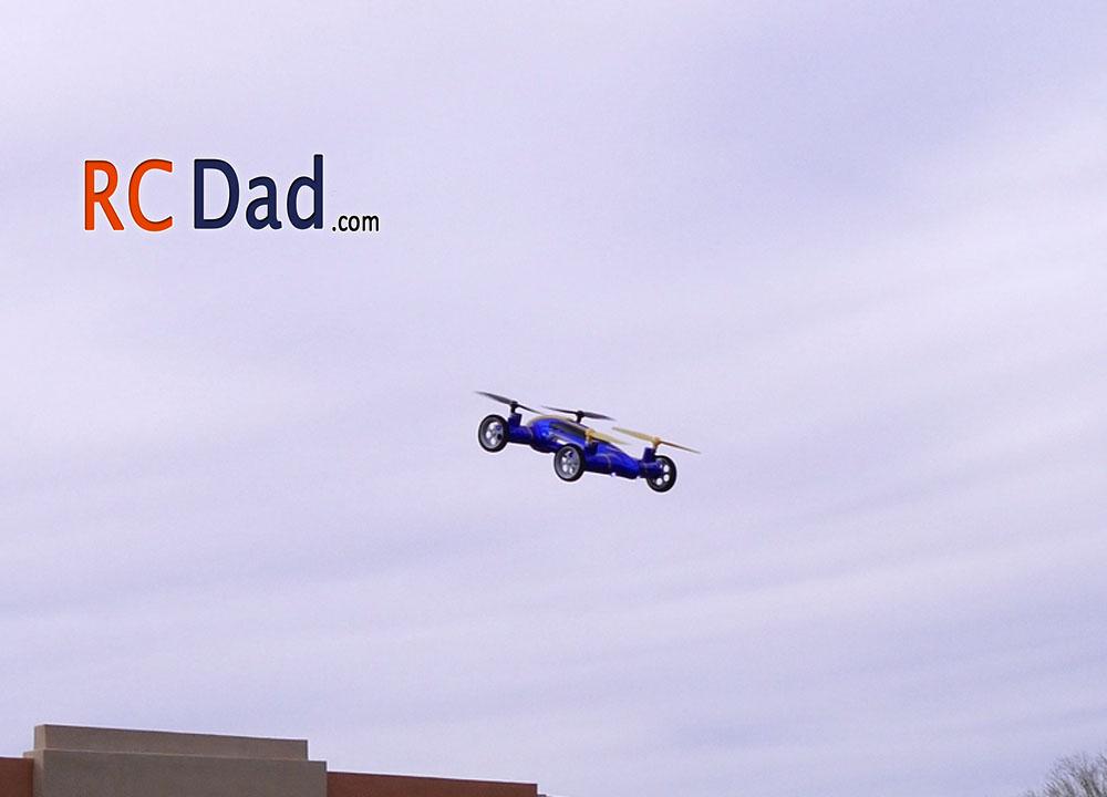 rc quadcopter car