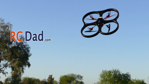 rc quadcopter flip