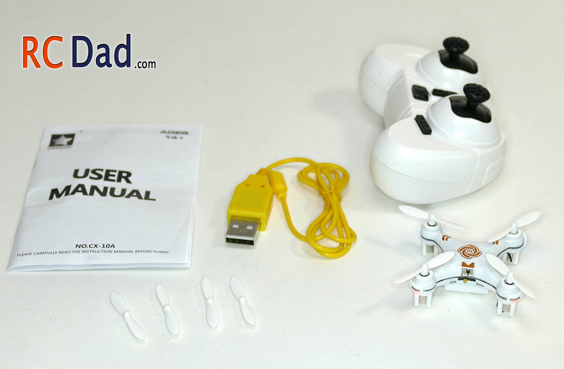 rc quadcopter mini