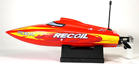 recoil boat small