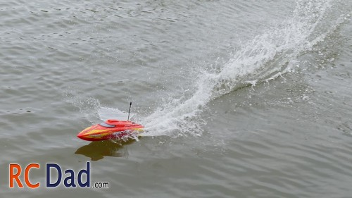 self righting rc boat