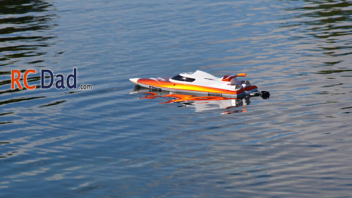 small rc boat
