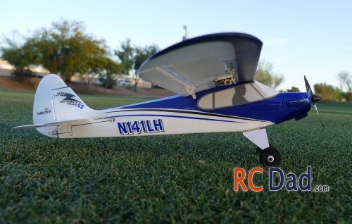 sport cub rc airplane