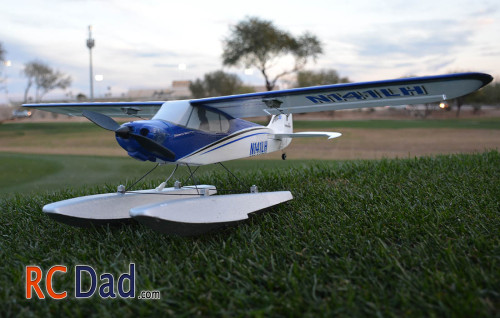 sport cub s with floats