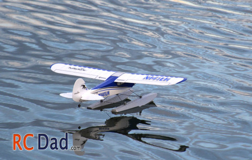 sport cub with floats