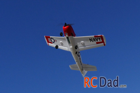 t-28 rc airplane