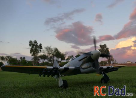 Hawker Tempest rc plane