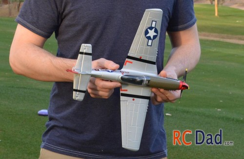ultra micro p51 mustang rc airplane