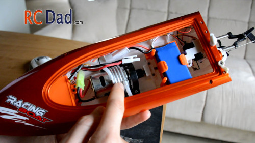 water cooled rc boat